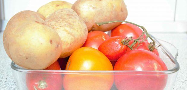 Potato & Tomato