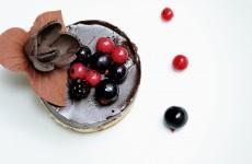 Tarta de ciocolata cu zmeura